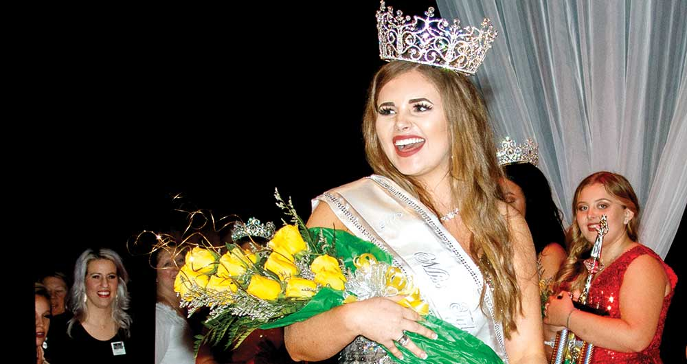 Emily Eddins crowned Miss Tyler County 2019