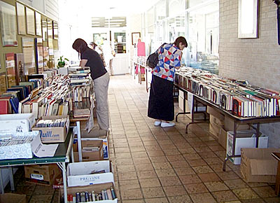 Allan Shivers Library book sale big success