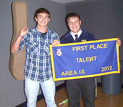 Three Tyler County students place in FFA Talent Show