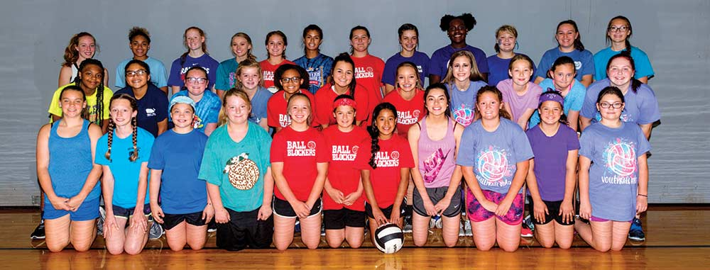 Woodville hosts volleyball camp for area girls