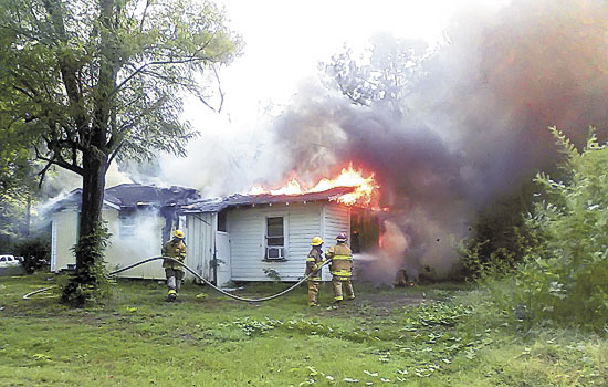 Woodville Fire Destroys Family Home