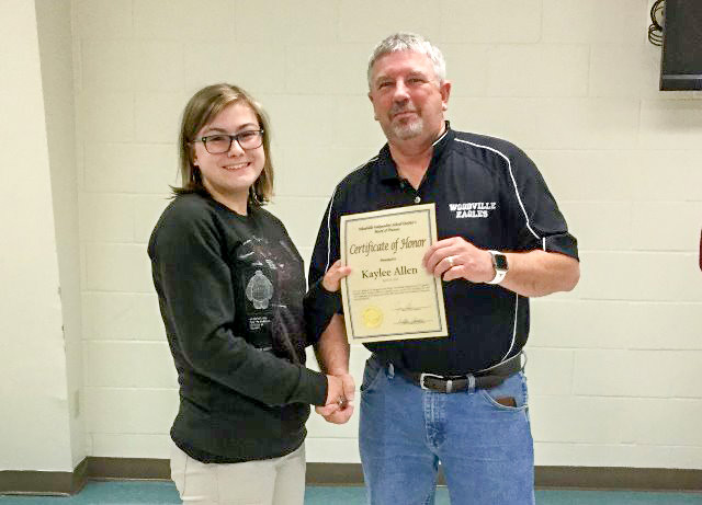 Woodville ISD offers students kudos for outstanding efforts