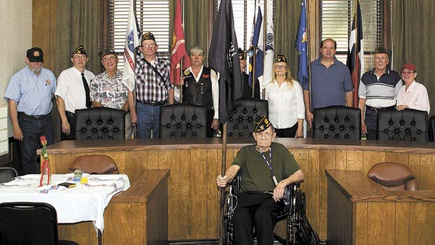 POW/MIA Ceremony held at Courthouse