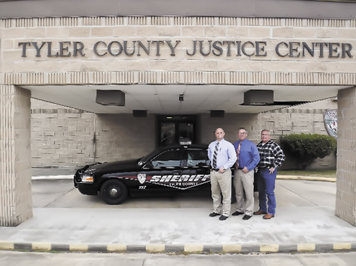 New year brings new staff to TylerCounty Sheriff's Department