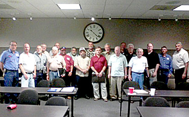 Eighteen (18) Tyler County Emergency Service District Commissioners attended training at the Southeast Texas Regional Planning Commission Meeting Room.
