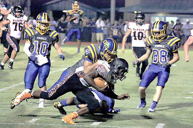 Warriors fall to Evadale 40-22 in season opener