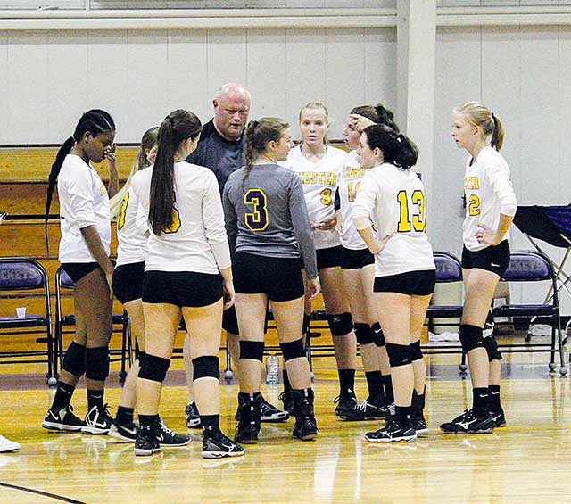 Lady Jackets determined to serve up a win