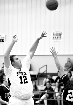 Spurger's Health Zoch makers first Varsity basket of the season