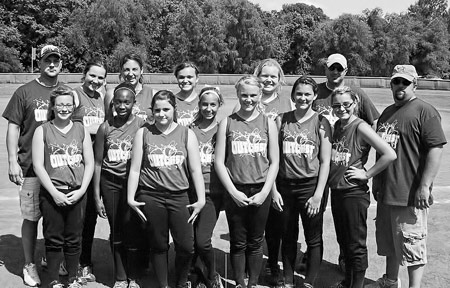 Local girls softball performs well in tournament