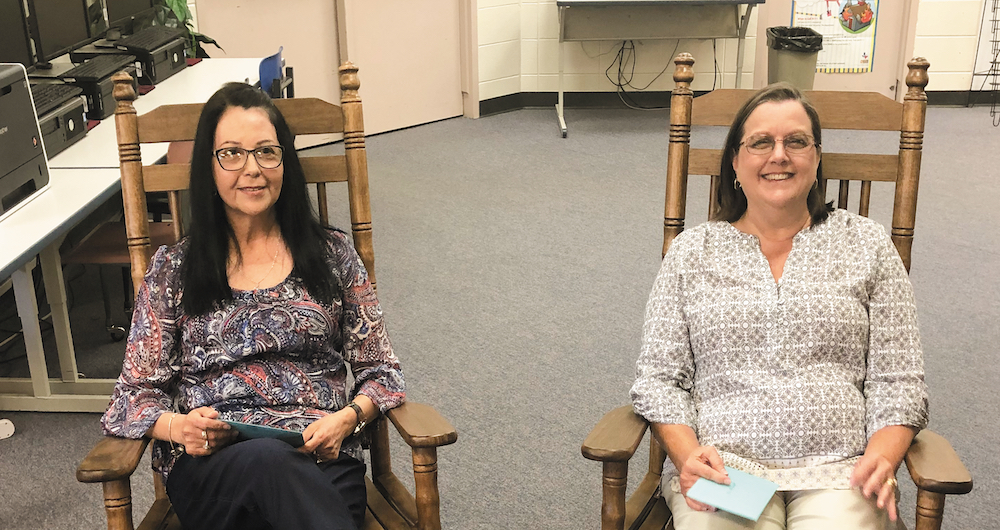 Chester board honors two retirees
