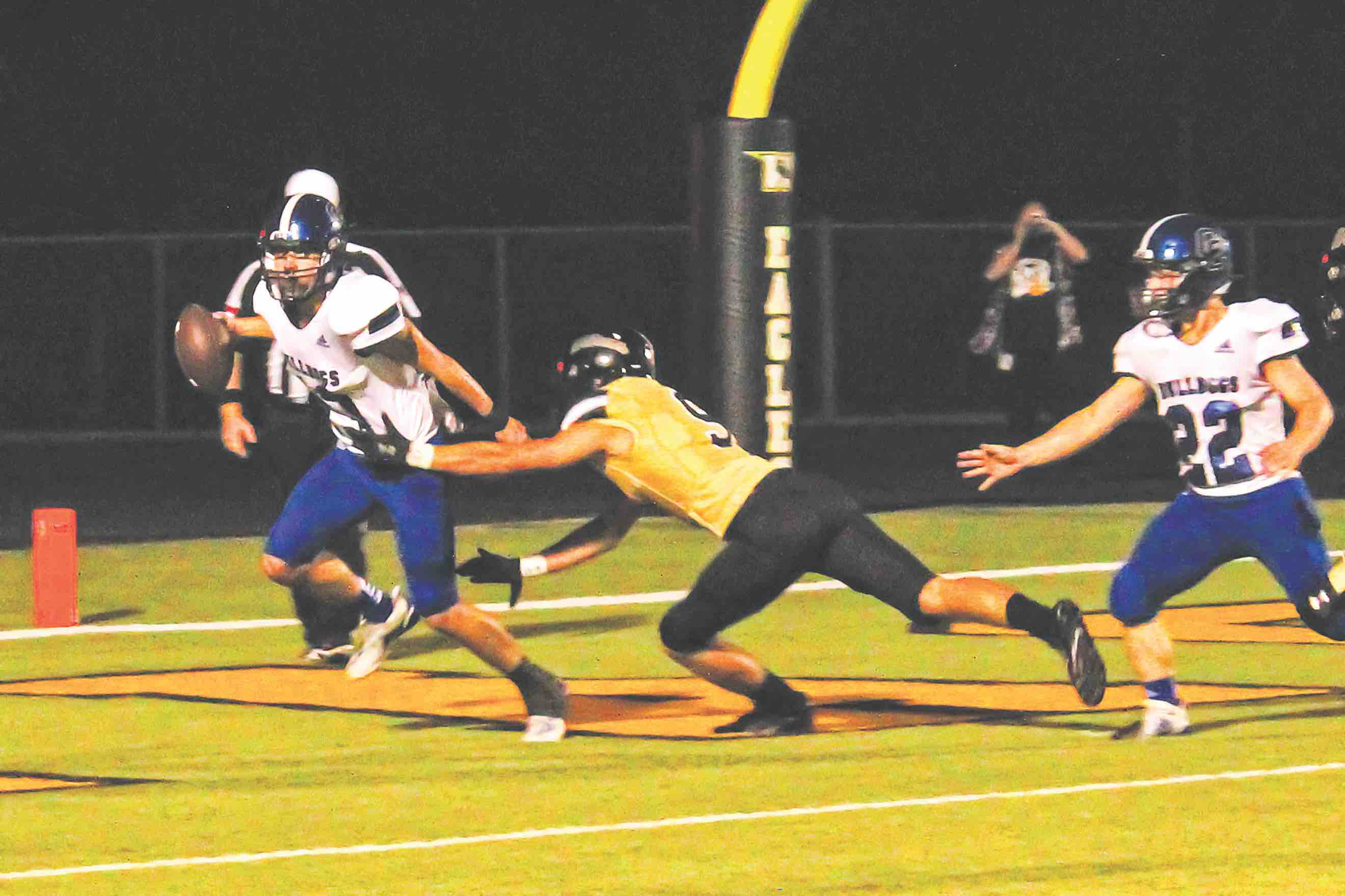 Woodville takes down Corrigan-Camden 48-7