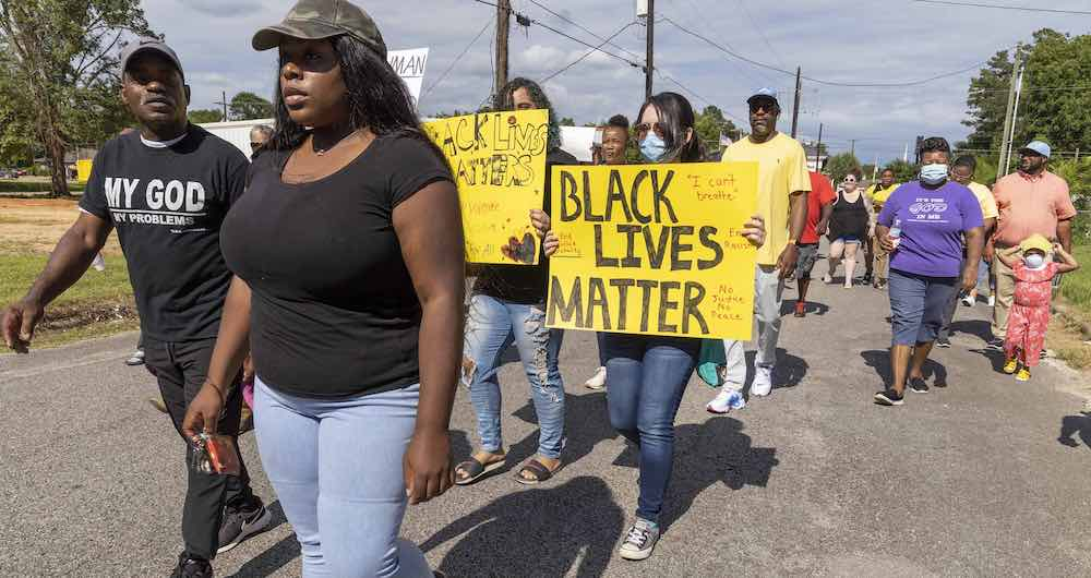 Black lives matter protest in Woodville, Tx (Gallery)