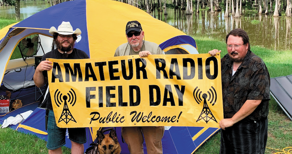 Amateur radio field day