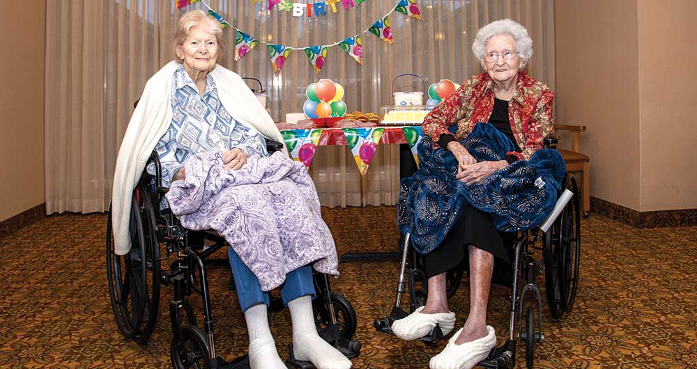 Birthday Celebration for centenarians