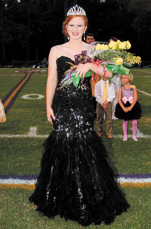 Timber Wright is crowned Chester 2013 Homecoming Queen