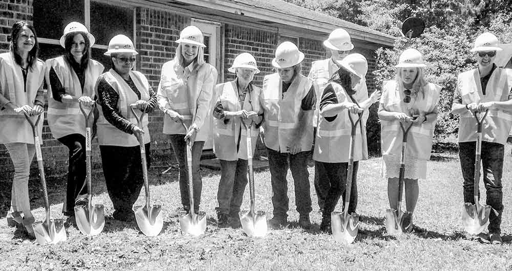 Groundbreaking held for GLO-funded rebuild project