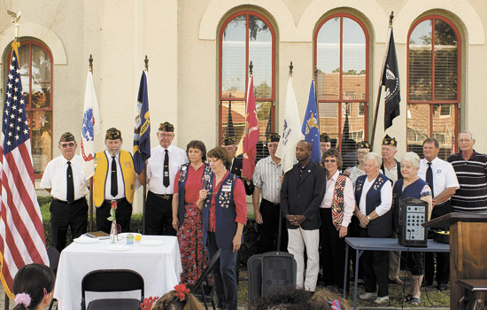 POW/MIA Memorial service held
