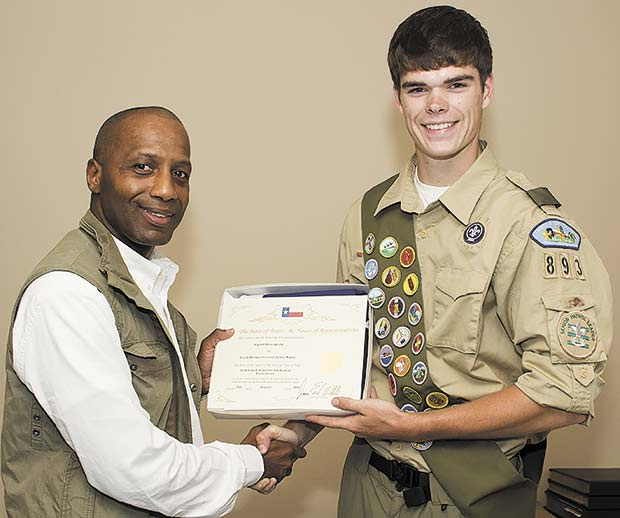 Grant Hensarling earns Eagle Scout