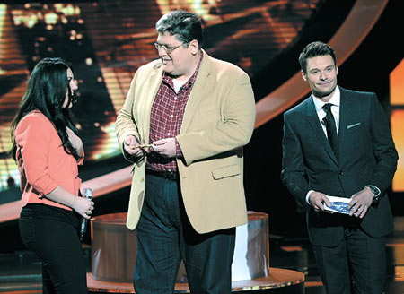 Live on American Idol: Mayor presents Kree with Key
