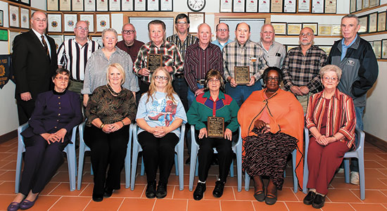 Veteran Van driver volunteers honered