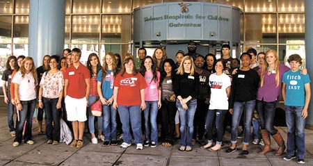 FCCLA and HOSA make donation
