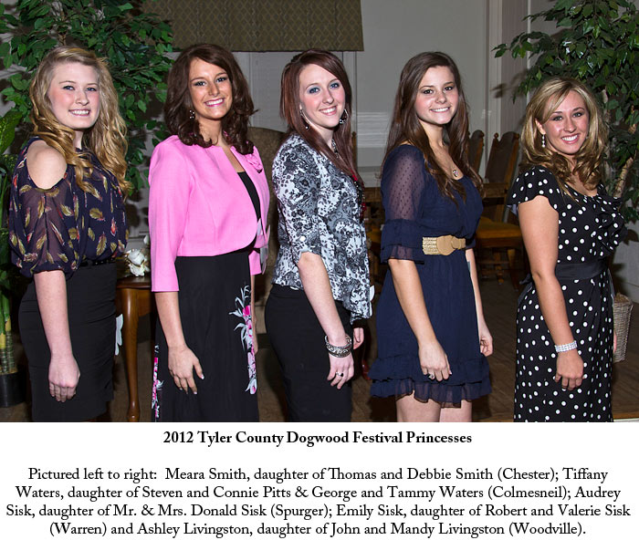 Dogwood Festival Princesses and Ladies In Waiting Announced