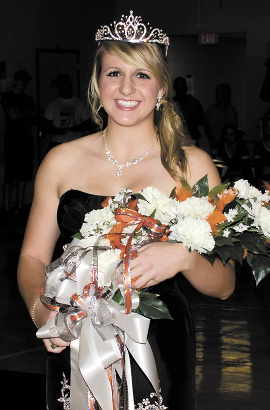 Warren 2012 Homecoming Queen Meagan Hollingsworth