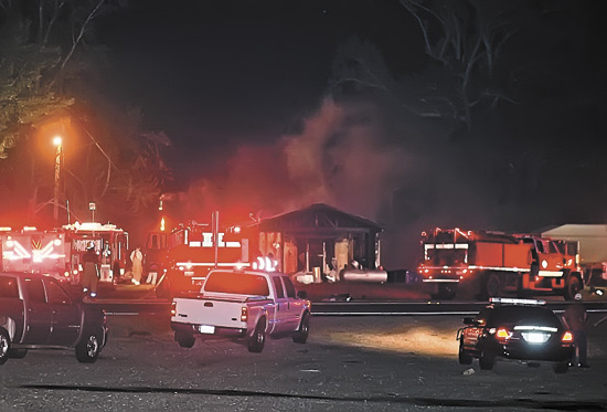 Early morning fire destroys home August 31