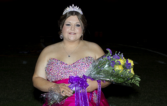 Paige Whitworth is 2012 Chester Homecoming Queen