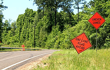 Construction on Hwy. 1746 to continue until Friday
