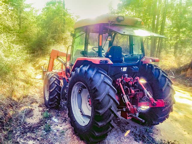 TCSO recovers stolen tractor