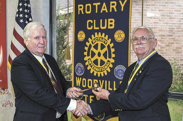 Jerry Springfield is new Rotary President