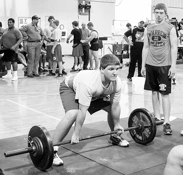 Gallery & Story: Warren Powerlifting Tournament