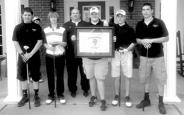 Woodville's varsity boys golf took second place at the Grapeland Sandies Invitational Golf Tournament.
