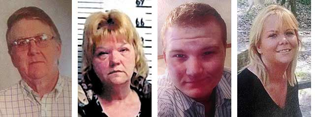 Grand Jury indicts four Westfall family members